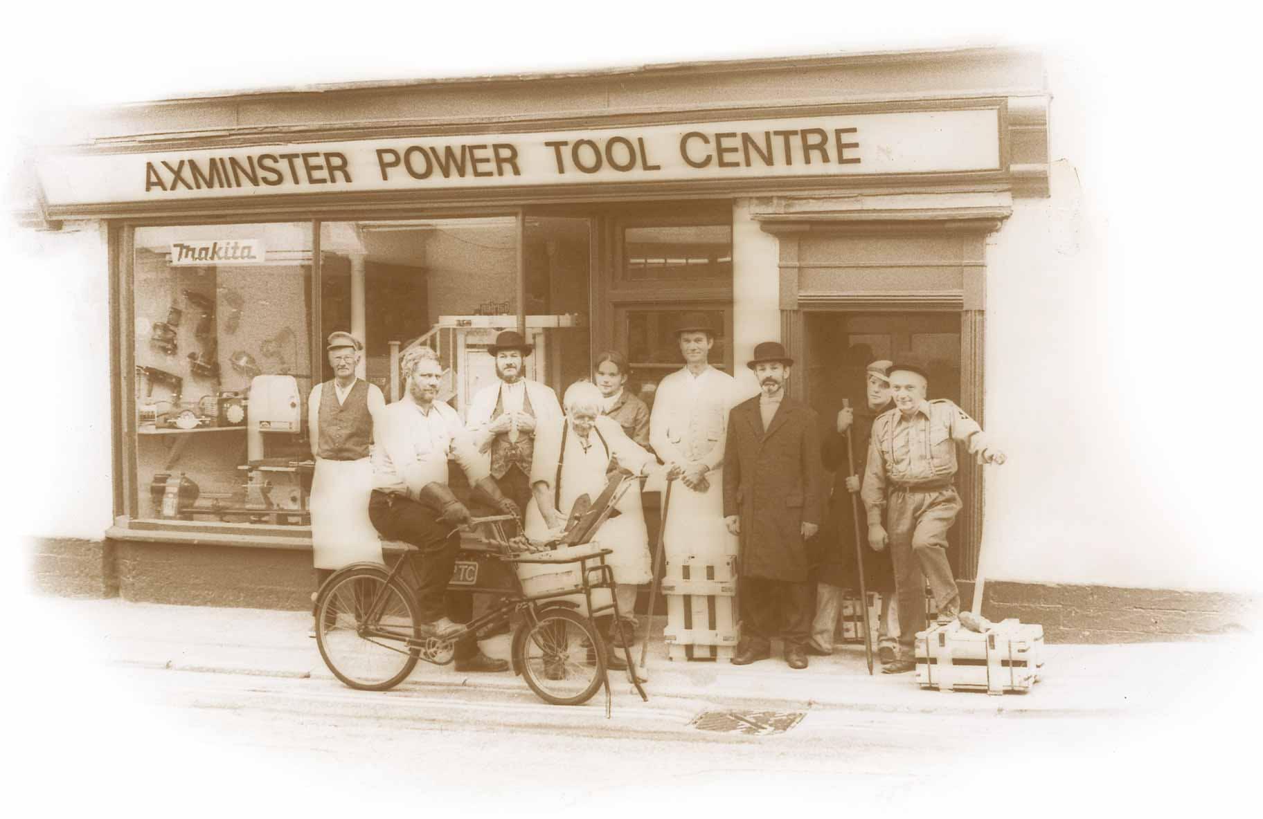 Axminster Store 50 Years