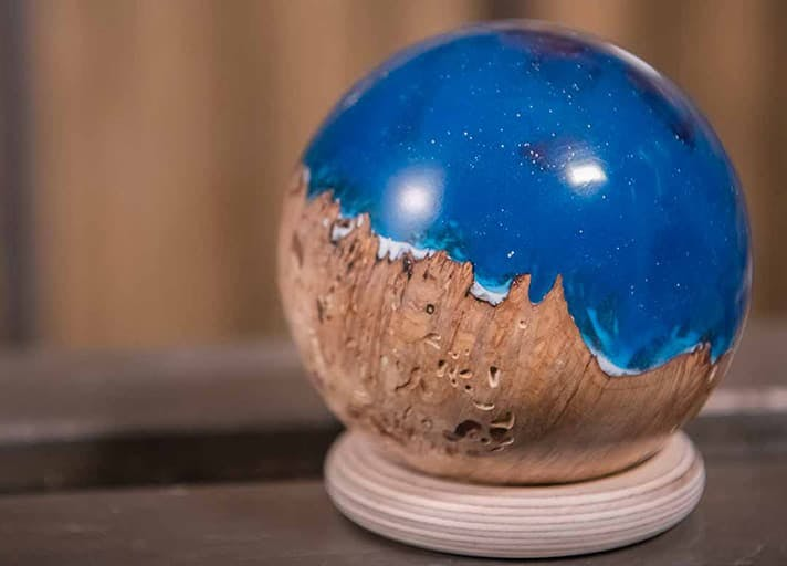 Resin And Burr Sphere