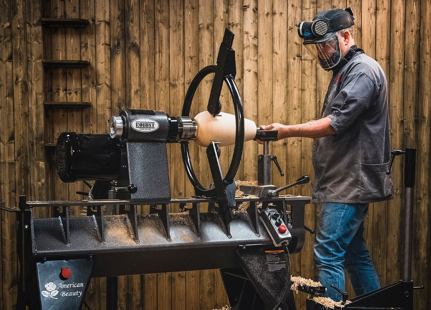 Woodturning Lathes from Robust Tools