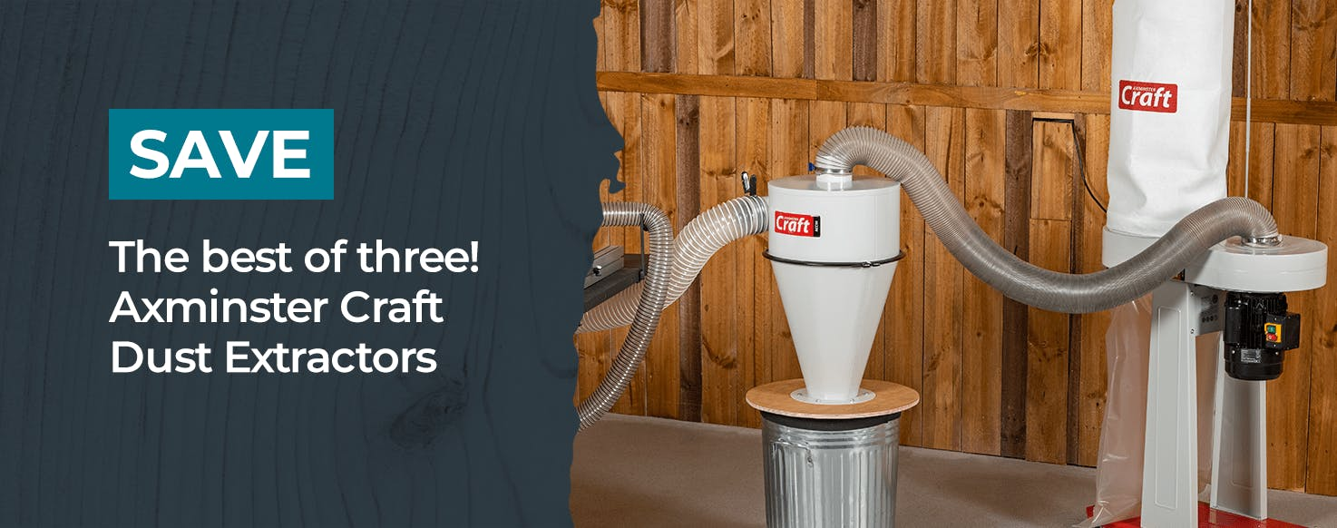Axminster Craft Dust Extractors