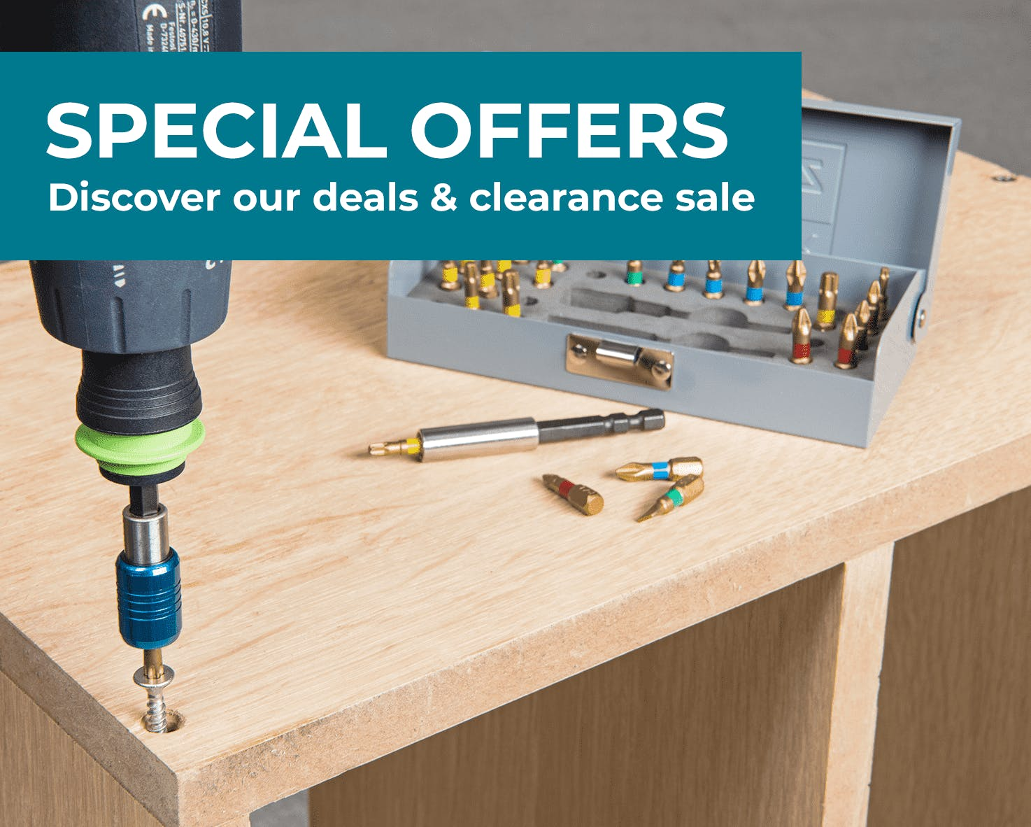 Special Offers and Clearance Sale