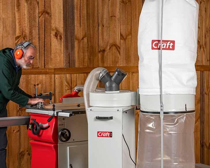 Axminster Craft Extractors