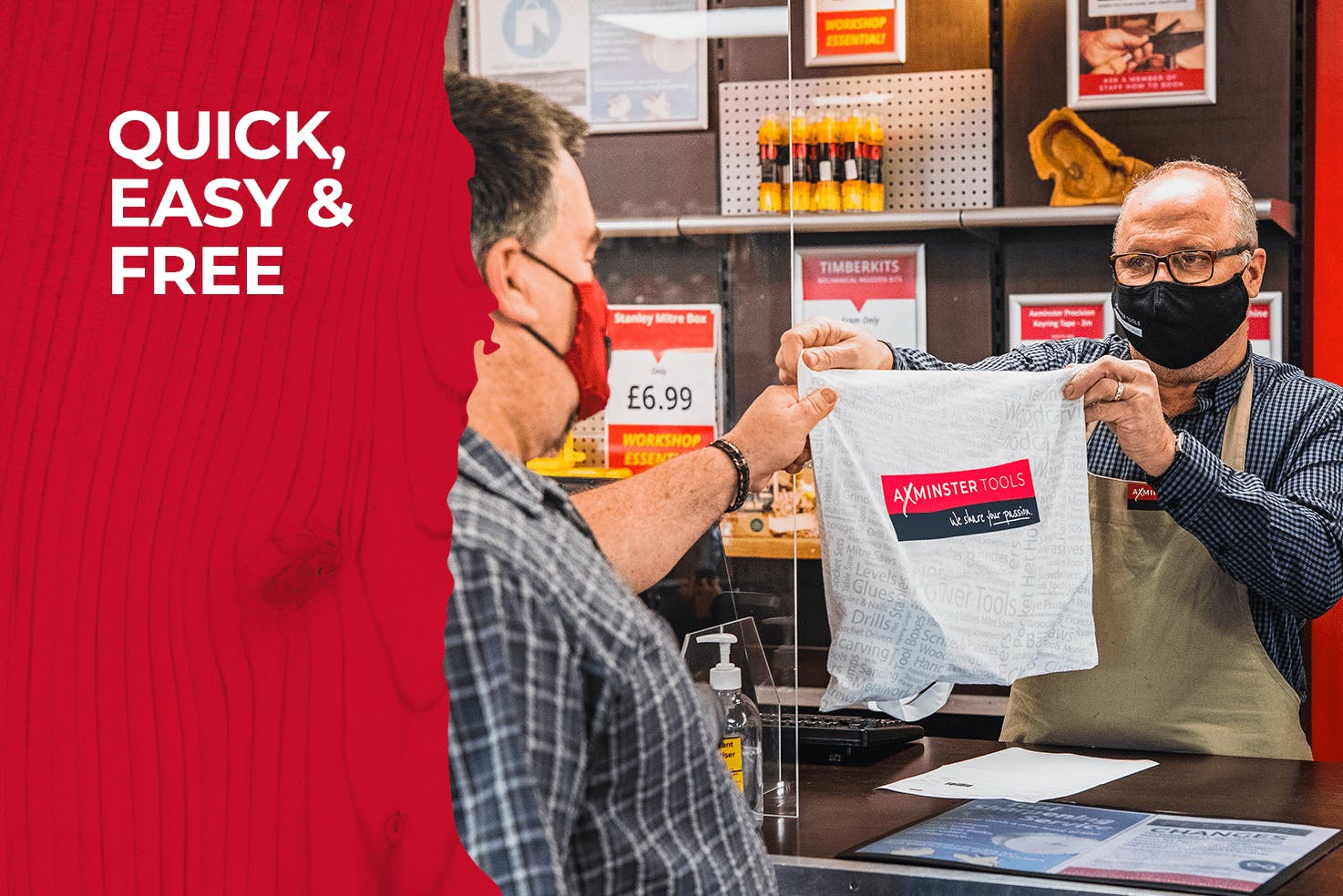 Click & Collect is quick, easy and free