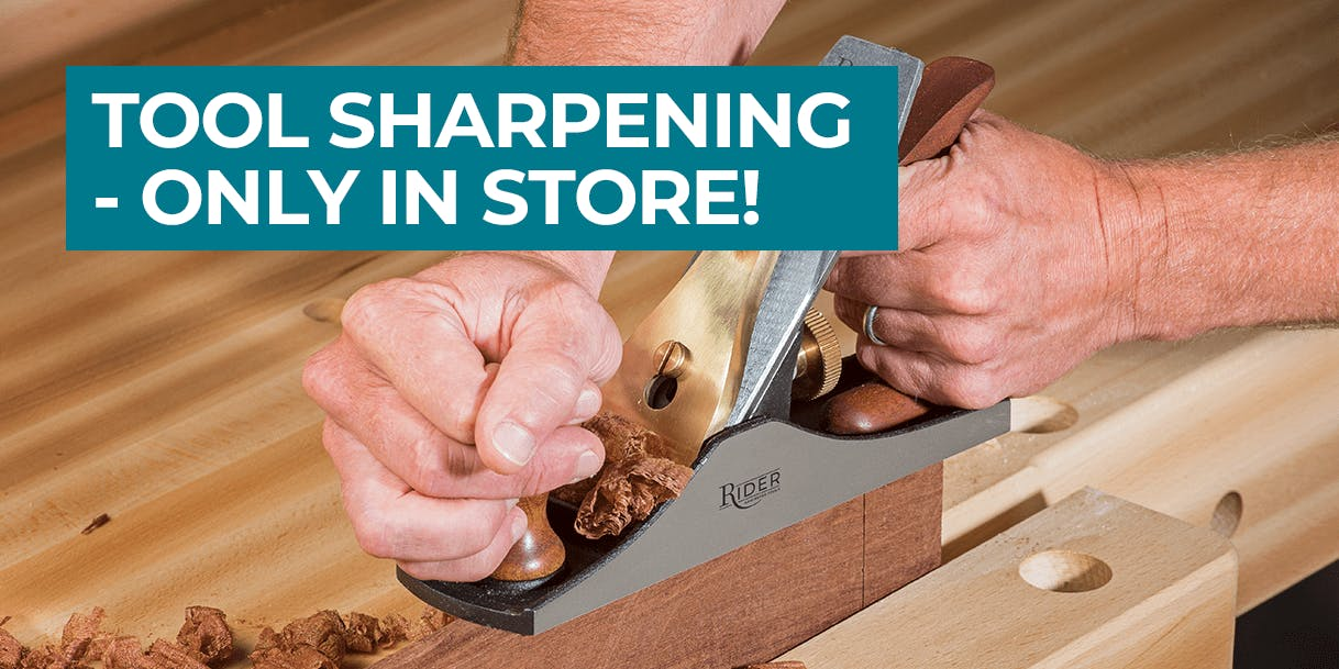 Planks and blanks. Plus tool sharpening - only in store