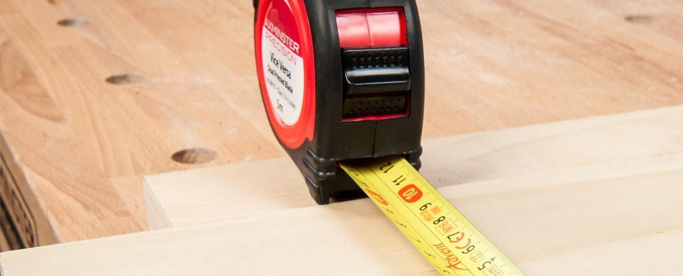 View Axminster Precision Tape Measures