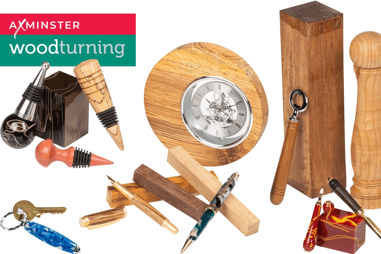 Woodturning pen and project kits