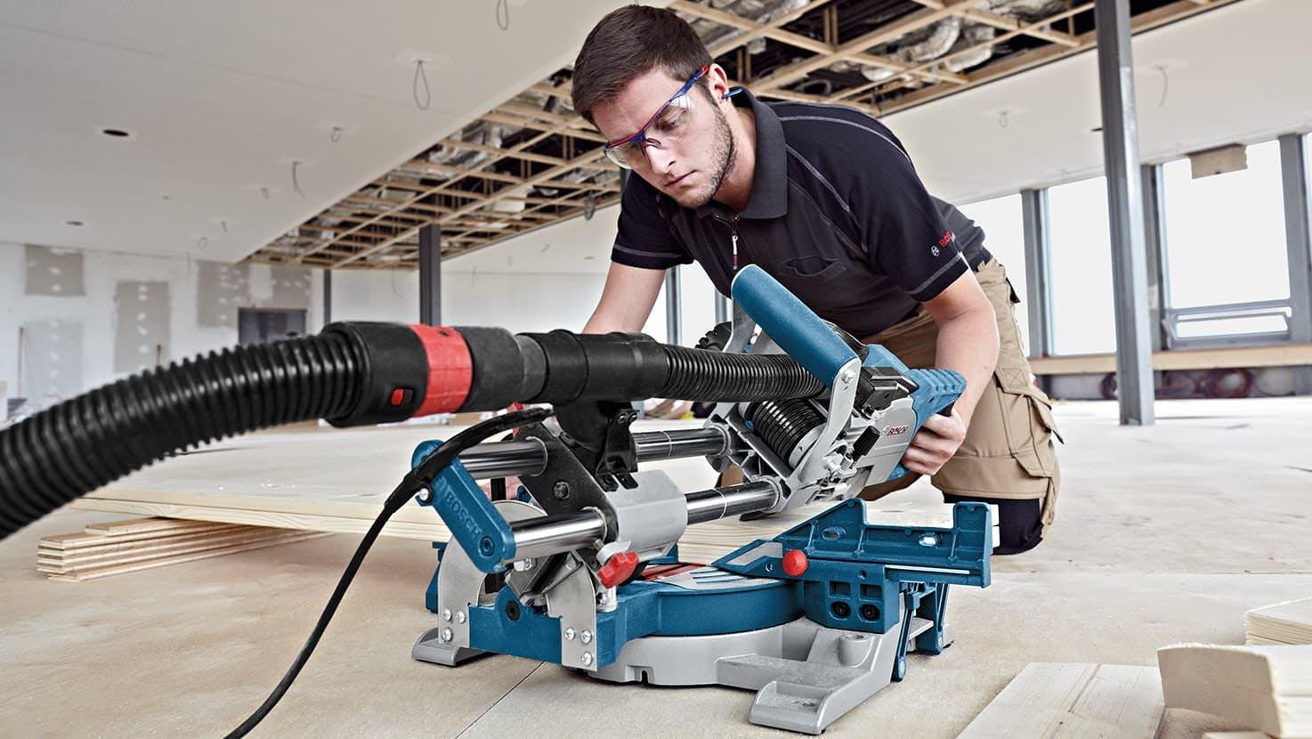 Bosch GCM 8 SJL Slide Mitre Saw 230V