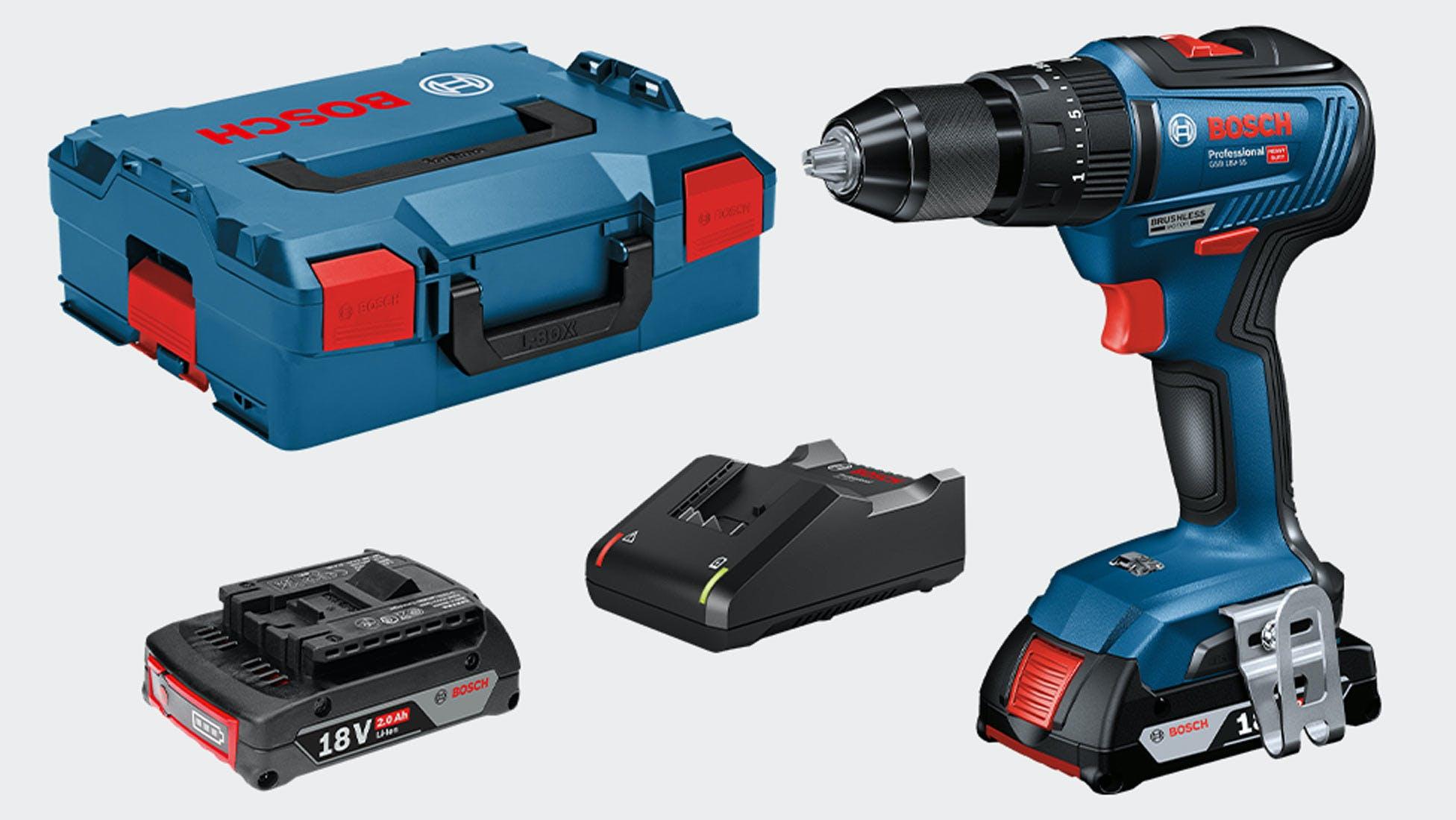 Bosch GSB18V-55 Combi Drill