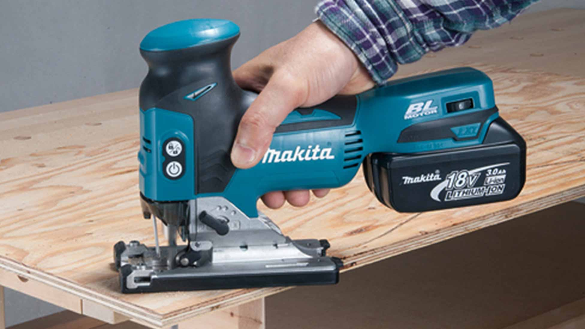 Makita DJV181Z Body Grip Brushless Jigsaw 18V - Body Only