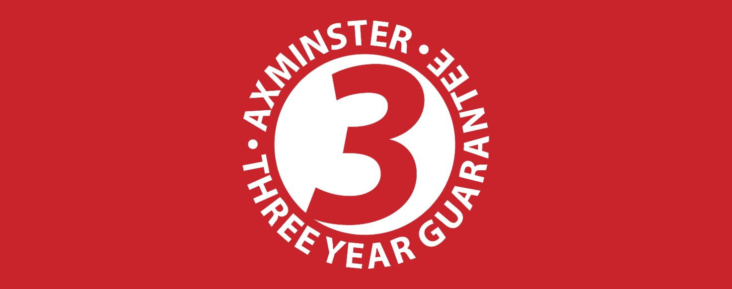 Axminster Craft Guarantee