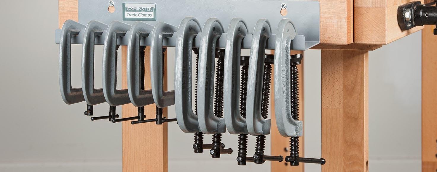 Axminster Trade Clamp Racks