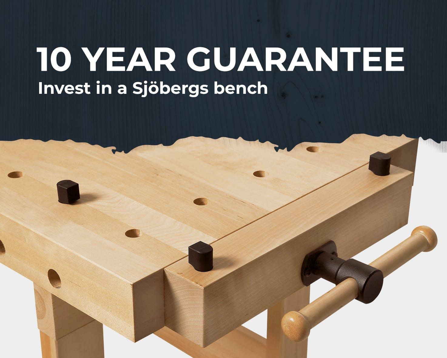 Sjobergs 10 year guarantee