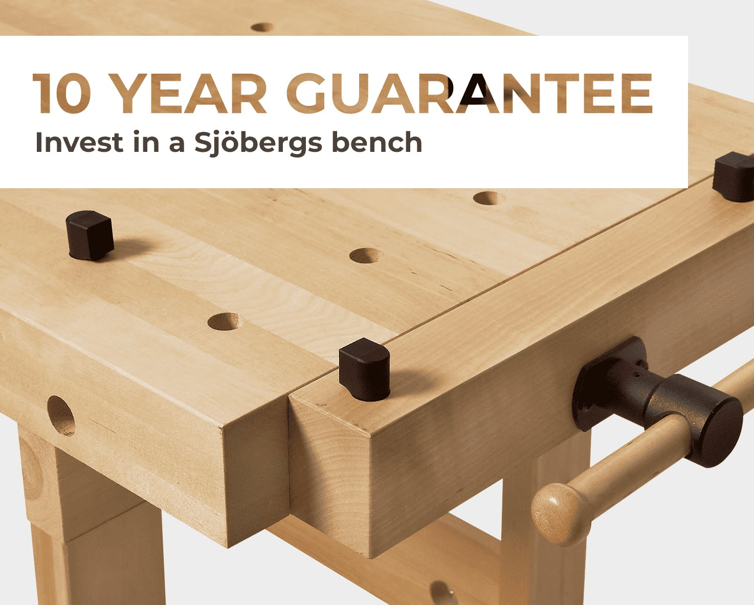 Sjobergs 10 year guarantee