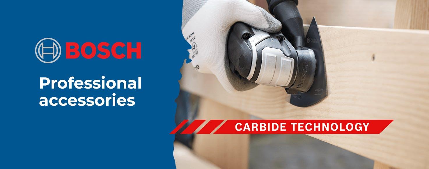 Bosch carbide accessories
