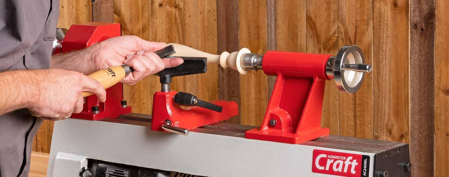 Woodturning lathes