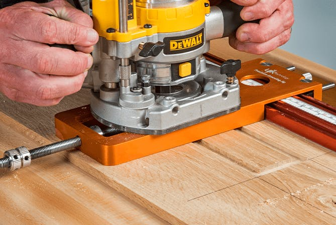 Precision Grooving Jig