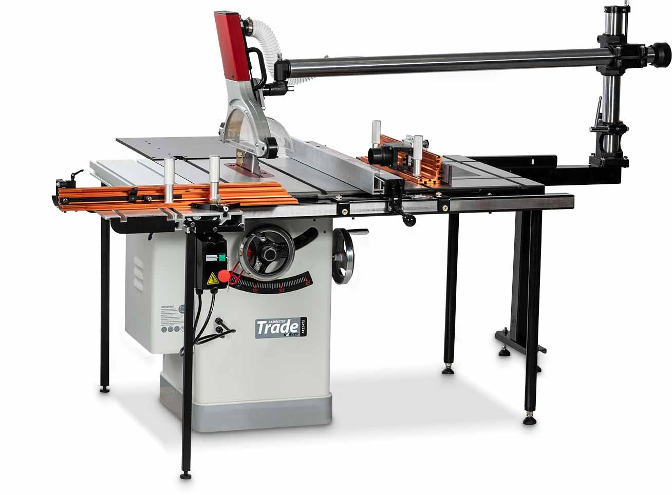 Axminster Trade AT254TS Table Saw Workstation