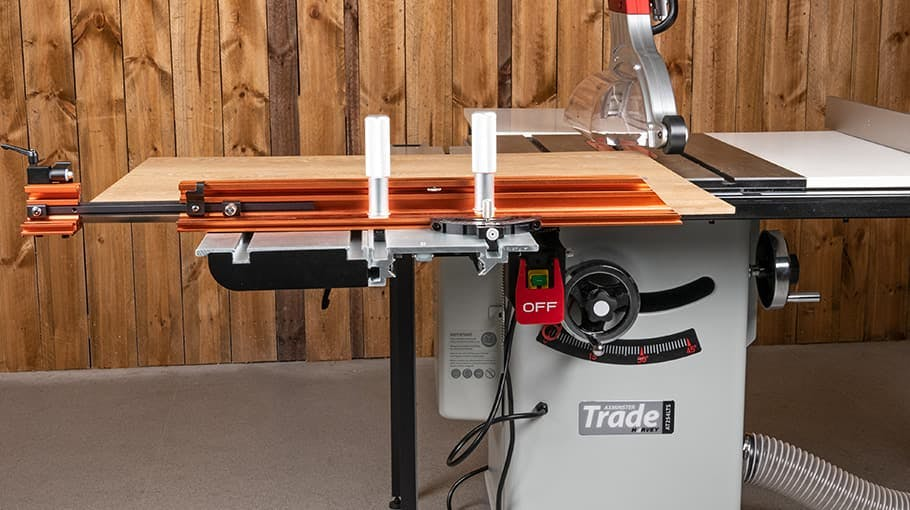 Axminster Trade ST1400 Sliding Table for AT254TS
